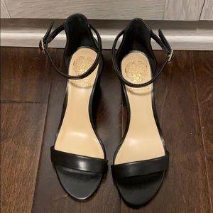 Vince Camito Beah Block Heel Leather Sandal
